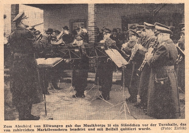 Heeresmusikkorps Ulm 1961