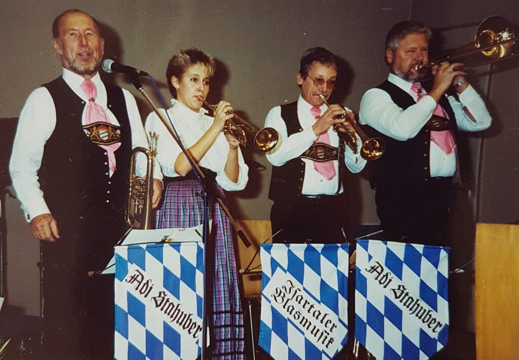 Iris Gallecker bei Adi Stahuber