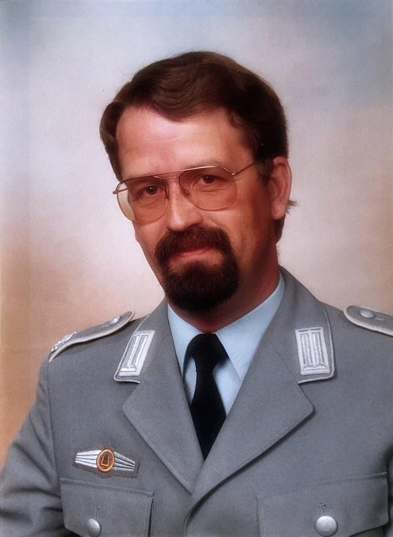Major Simon Dach leitete das Heeresmusikkorps Ulm von 1979 bis 1987