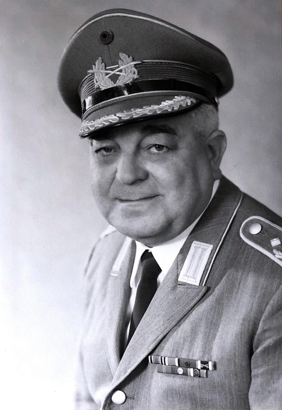 Oberstleutnant Josef Hoser leitete das Heeresmusikkorps Ulm von 1967 bis 1973