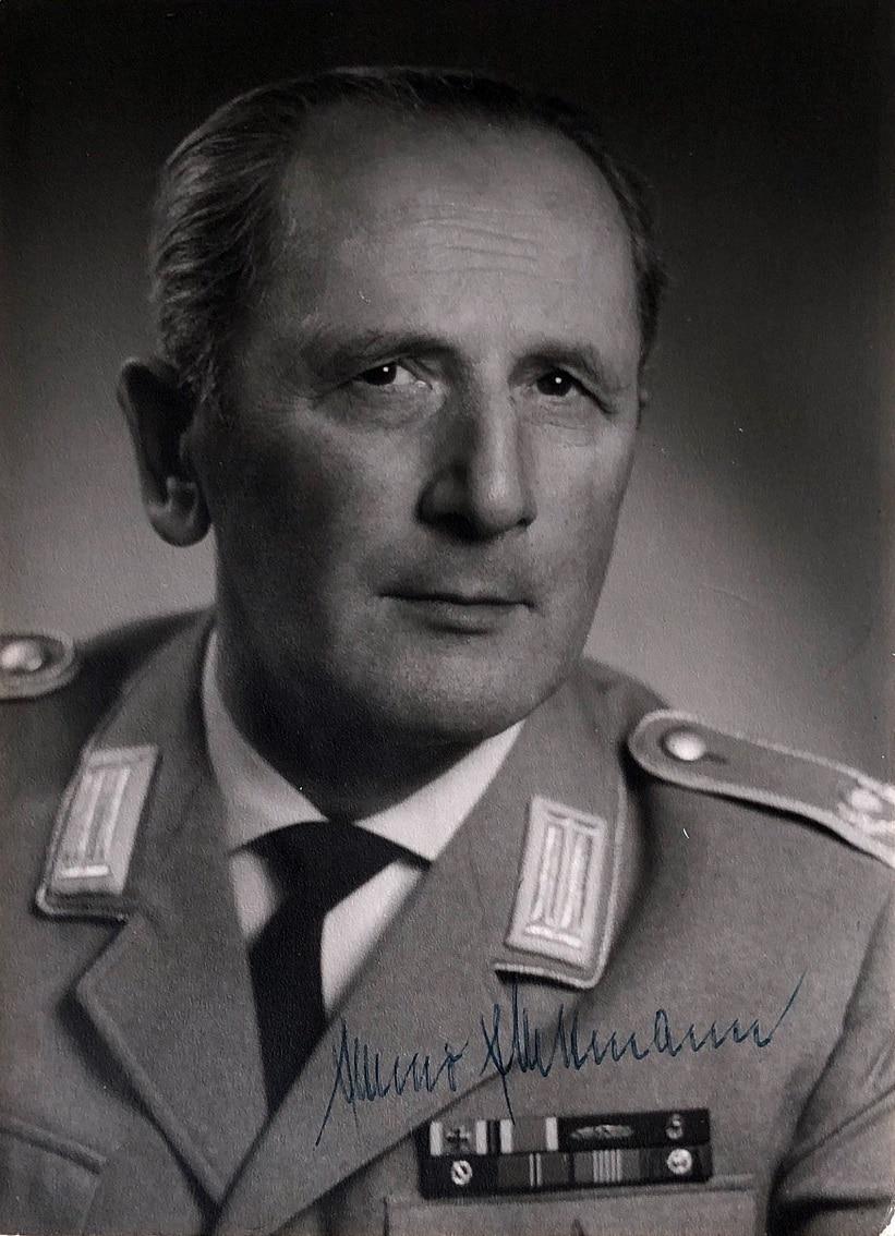Major Emmo Mittmann leitete das Heeresmusikkorps Ulm von 1956 bis 1967