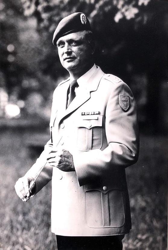 Oberstleutnant Wolfgang Rödiger leitete das Heeresmusikkorps Ulm von 1995 bis 2001