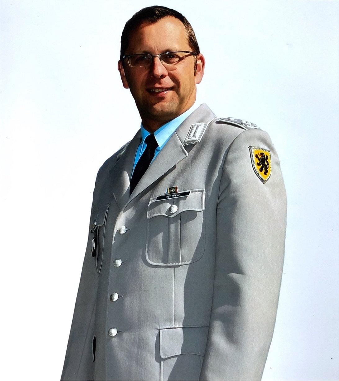 Oberstleutnant Christian Weiper leitete das Heeresmusikkorps Ulm von 2006 bis 2012