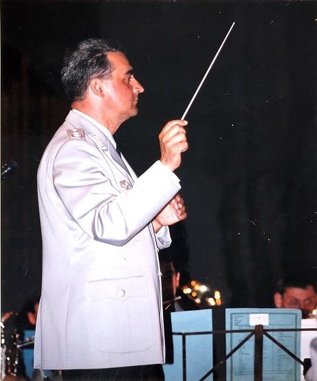 Oberstleutnant Volker Wörrlein leitete das Heeresmusikkorps Ulm von 1991 bis 1995