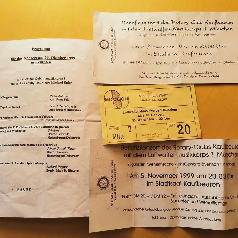 Eintrittskarten Konzert