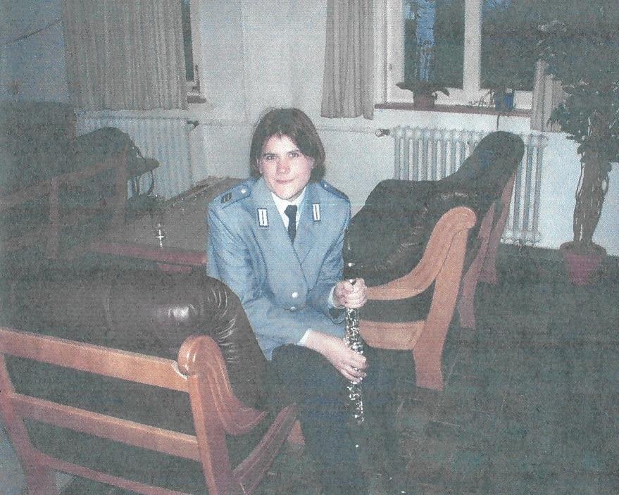 Christine Engel Grundausbildung 2000