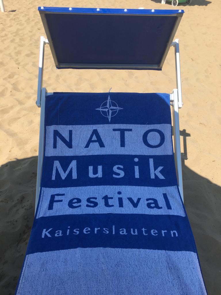 Handtuch Nato Musik Festival Kaiserslautern