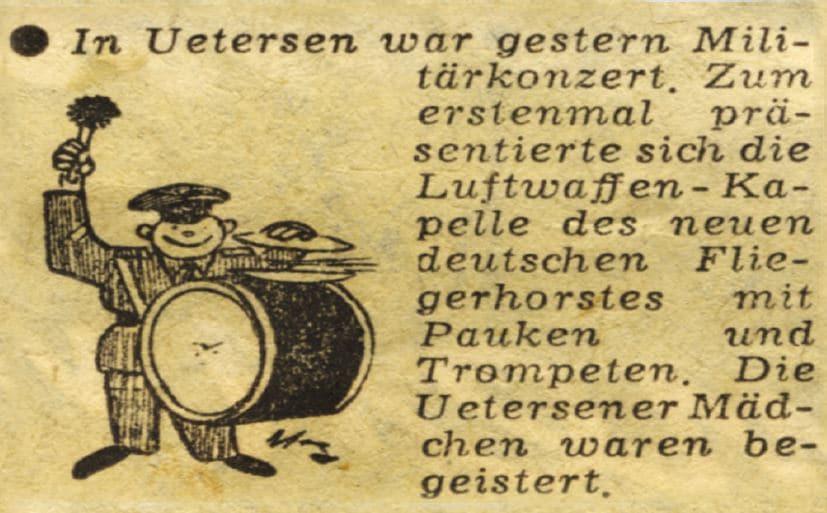 erstes Konzert Luftwaffenmusikkorps Münster