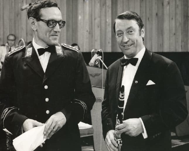 Ottomar Fabry und Hugo Strasser