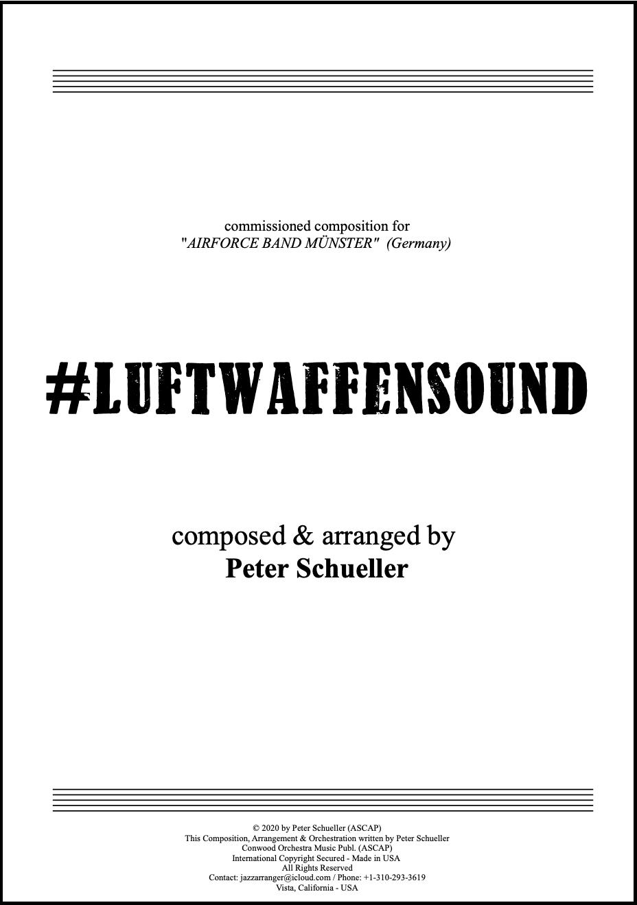 Luftwaffensound Orchesterleitbild