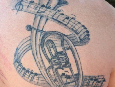 Tattoo und Blasmusik