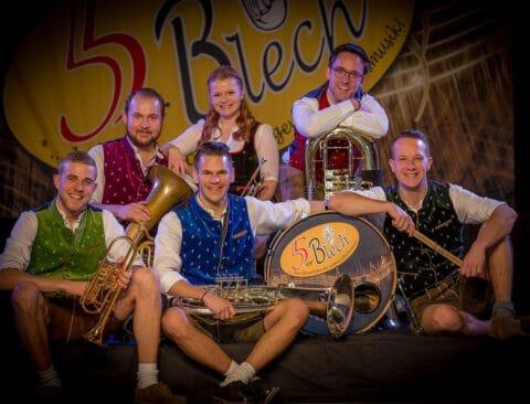 5er Blech: Spezialisten für angewandte Blasmusik