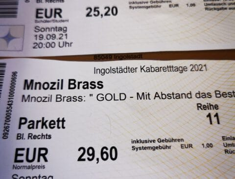 Eventim Ärger beim Mnozil Brass Konzert